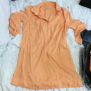 Peachy button top maternity s